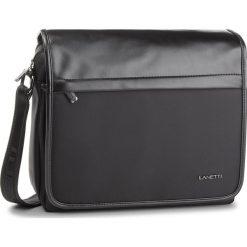 Torba na laptopa LANETTI - RM0360 Black. Czarne torby na laptopa marki Lanetti, z materiału. Za 119,99 zł.