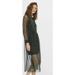 Noisy May - Sukienka. Szare długie sukienki marki Noisy May, na co dzień, l, z elastanu, casualowe, proste. W wyprzedaży za 129,90 zł.