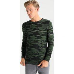 Swetry klasyczne męskie: Key Largo FINAL Sweter green