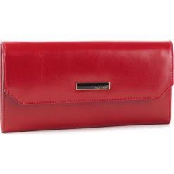 Duży Portfel Damski MONNARI - PUR0730-005 Red. Czerwone portfele damskie Monnari, ze skóry ekologicznej. W wyprzedaży za 149,00 zł.