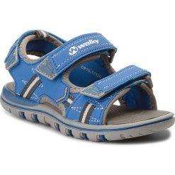 Sandały chłopięce: Sandały WALKY – CP75-17320 Niebieski