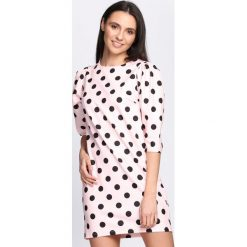 Różowa Sukienka Another Love. Różowe sukienki letnie marki numoco, l, z dekoltem w łódkę, oversize. Za 84,99 zł.