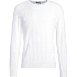 Swetry klasyczne męskie: J.LINDEBERG HUNT Sweter white