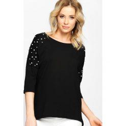 Czarna Bluzka Brilliant. Czarne bluzki damskie Born2be, m, z długim rękawem. Za 59,99 zł.