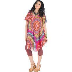 Sukienki: Sukienka z kolorowym wzorem