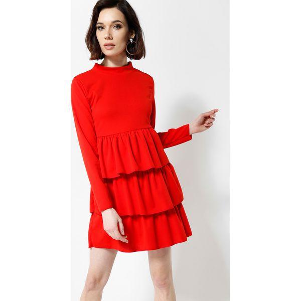 82c8c4528b Czerwona Sukienka Modesty And Chic - Czerwone sukienki damskie other ...