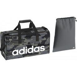 Torby podróżne: Adidas Torba Sportowa Lin Per Tb S Gr Vista Grey/Black/White S