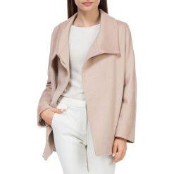 Płaszcz damski 84-9W-102-9. Białe płaszcze damskie Wittchen, z materiału, eleganckie. Za 499,00 zł.