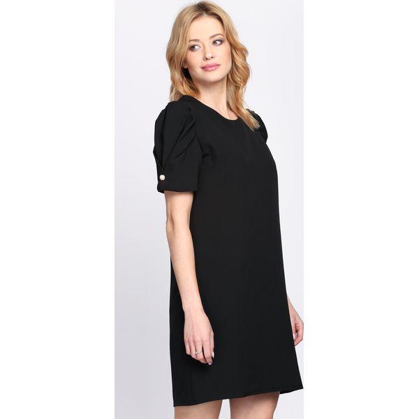 b9413d9624 Czarna Sukienka Thunderbird - Czarne sukienki damskie Born2be