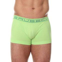 Majtki męskie: Brubeck Bokserki męskie shortbox Comfort Cotton zielone r. S (BX10050A)