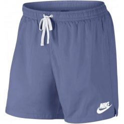 Nike Spodenki M Nsw Short Wvn Flow Purple Slate White L. Białe spodenki sportowe męskie marki Nike, l, z meshu. Za 129,00 zł.