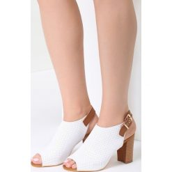Sandały damskie: Białe Sandały Riverside Meadow