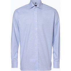 Eterna Modern Fit - Koszula męska – niewymagająca prasowania, niebieski. Niebieskie koszule męskie non-iron marki Eterna Modern Fit, m, z bawełny, z klasycznym kołnierzykiem. Za 149,95 zł.