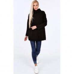 Czarny sweter z golfem 0210. Czarne golfy damskie marki Fasardi. Za 89,00 zł.