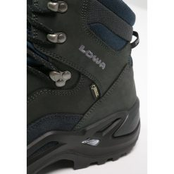 Lowa RENEGADE GTX  Buty trekkingowe dunkelgrau/navy. Szare buty trekkingowe męskie Lowa, z gumy, outdoorowe. Za 809,00 zł.