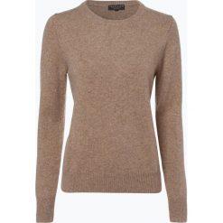 Marie Lund - Sweter damski z wełny merino, beżowy. Brązowe swetry klasyczne damskie Marie Lund, xxl, z wełny. Za 229,95 zł.
