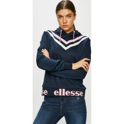 Ellesse - Bluza. Szare bluzy z kapturem damskie marki Ellesse, z nadrukiem, z dzianiny. Za 299,90 zł.