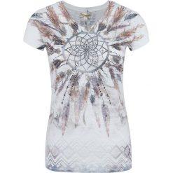 T-shirty damskie: Key Largo – T-shirt damski, beżowy