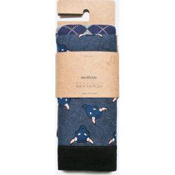 Medicine - Skarpety City Rhythmes (2-pack). Szare skarpetki męskie marki MEDICINE, z bawełny. W wyprzedaży za 23,90 zł.