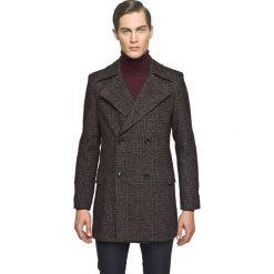 Płaszcz repos bordo. Szare płaszcze męskie marki Recman, m, z długim rękawem. Za 899,00 zł.