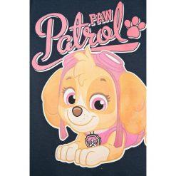 Name it - Top dziecięcy 86-104. Szare bluzki dziewczęce Name it, z nadrukiem, z bawełny, z okrągłym kołnierzem. W wyprzedaży za 39,90 zł.