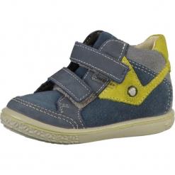 Pepino Buty dziecięce  niebieski / cytrynowy. Niebieskie buciki niemowlęce Pepino, z materiału, na rzepy. Za 339,00 zł.