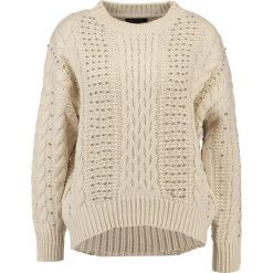 Swetry klasyczne damskie: New Look CABLE BEED JUMPER Sweter cream