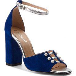 Sandały damskie: Sandały R.POLAŃSKI - 0934 Chaber Zamsz