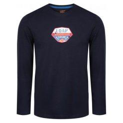 Odzież termoaktywna męska: Loap Loap Termo Koszulka Męska Aval Dark Blue S