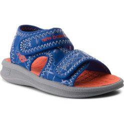 Sandały chłopięce: Sandały NEW BALANCE – K2031GBO Grey/Blue/Orange