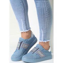 Niebieskie Buty Sportowe Move Around. Białe buty sportowe damskie marki vices. Za 79,99 zł.