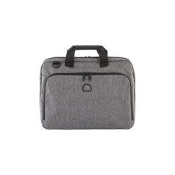 "Torba na laptopa 15.6"" szara dwukomorowa szara Delsey. Szare torby na laptopa marki Delsey, w paski. Za 239,00 zł."