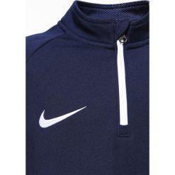 Nike Performance DRY DRILL ACADEMY Bluza obsidian/white. Niebieskie bluzy chłopięce Nike Performance, z materiału. W wyprzedaży za 132,05 zł.