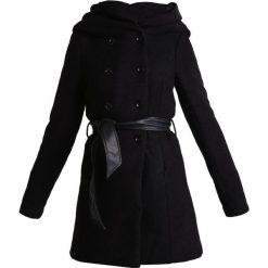 Płaszcze damskie: ONLY ONLLISA  Płaszcz wełniany /Płaszcz klasyczny black
