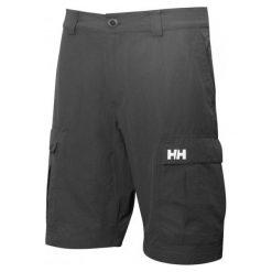 Helly Hansen Szorty Męskie Hh Qd Cargo Shorts 11 Ebony 32. Niebieskie spodenki sportowe męskie marki Helly Hansen. Za 295,00 zł.