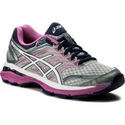 Buty ASICS - Gt-2000 5 (2A) T760N Midgrey/White/Pink Glow 9601. Szare buty do biegania damskie Asics, z materiału. W wyprzedaży za 289,00 zł.