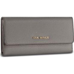 Duży Portfel Damski EVA MINGE - Caridad 2Y 17NB1372186EF 109. Szare portfele damskie Eva Minge, ze skóry. W wyprzedaży za 139,00 zł.