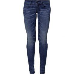 GStar LYNN MID SKINNY  Jeans Skinny Fit frakto supertretch. Niebieskie jeansy damskie relaxed fit marki G-Star, z bawełny. Za 459,00 zł.