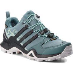 Buty adidas - Terrex Swift R2 Gtx W GORE-TEX AC8058 Rawgrn/Carbon/Ashgrn. Zielone buty trekkingowe damskie Adidas. W wyprzedaży za 419,00 zł.