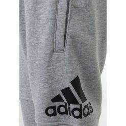Adidas Performance LOGO PANT Spodnie treningowe medium grey heather/black. Szare spodnie chłopięce adidas Performance, z bawełny. Za 149,00 zł.