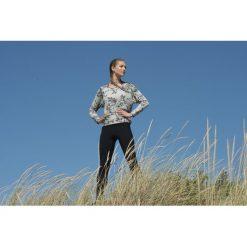 Bluza z nadrukiem. Szare bluzy z nadrukiem damskie marki La Redoute Collections, m, z bawełny, z kapturem. Za 272,96 zł.