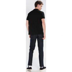 Lacoste CROCODIL Koszulka polo black. Szare koszulki polo marki Lacoste, z bawełny. Za 379,00 zł.