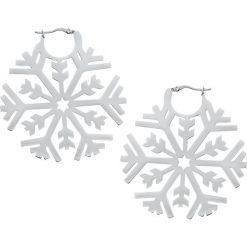Steel Highline® Frozen Kolczyki srebrny. Szare kolczyki damskie Steel Highline®, srebrne. Za 79,90 zł.