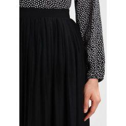 Spódniczki plisowane damskie: b.young SOFI SKIRT Spódnica trapezowa black