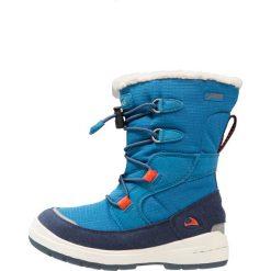 Viking TOTAK GTX Obuwie do nauki chodzenia petrol/marine. Zielone buty zimowe damskie Viking, z materiału, trekkingowe. W wyprzedaży za 220,35 zł.