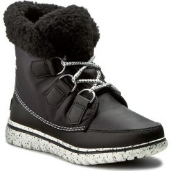 Śniegowce SOREL - Cozy Carnival NL2297-010 Black/Sea Salt. Czarne śniegowce damskie Sorel, z gumy. W wyprzedaży za 259,00 zł.
