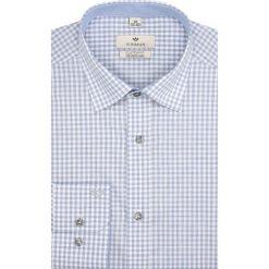 Koszula winberg 2561 długi rękaw custom fit szary. Szare koszule męskie marki Recman, na lato, l, w kratkę, button down, z krótkim rękawem. Za 189,00 zł.