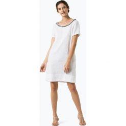 Sukienki hiszpanki: 0039 Italy – Lniana sukienka damska – Holiday Eve, czarny