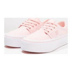 Trampki damskie slip on: DC Shoes TRASE PLATFORM Tenisówki i Trampki rose