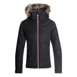 Roxy Dziewczęca Kurtka Jet Ski Girl Em 140 Czarny. Czarne kurtki dziewczęce przeciwdeszczowe marki Roxy, na zimę. Za 565,00 zł.